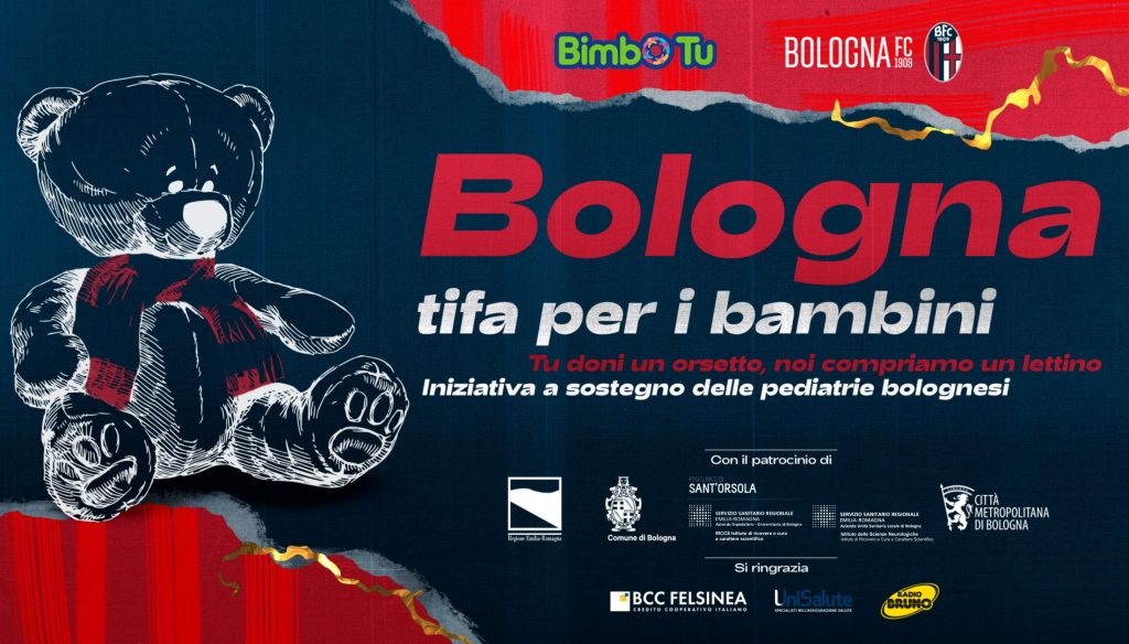 Bologna tifa per i bambini