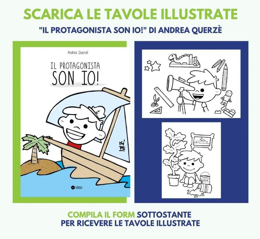 """Tavole illustrate """"Il protagonista son io!"""""""
